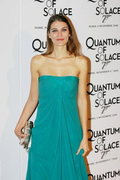 Quantum of Solace: il Red Carpet - L'attrice Claudia Zanella