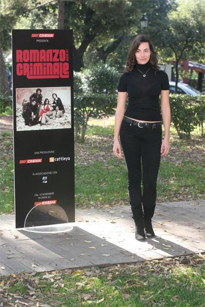 In foto Daniela Virgilio (38 anni) Dall'articolo: Romanzo criminale approda in tv.