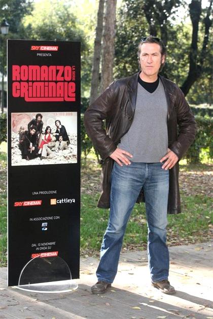 In foto Marco Giallini (58 anni) Dall'articolo: Romanzo criminale approda in tv.