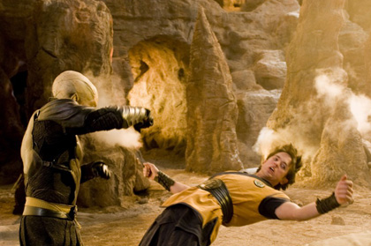 In foto James Marsters (58 anni) Dall'articolo: Dragon Ball il film: una valanga di photo stills.