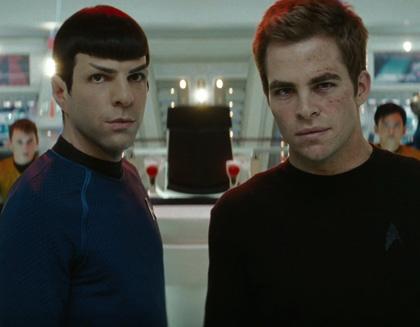In foto Chris Pine (39 anni) Dall'articolo: Star Trek: nuove immagini del film.