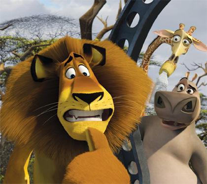 Cosa avete messo di voi stessi nei personaggi che interpretate? -  Dall'articolo: Madagascar 2: ci vuole un fisico bestiale.