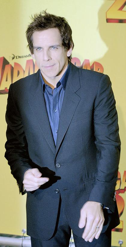 In foto Ben Stiller (56 anni) Dall'articolo: Madagascar 2, la photo call dei doppiatori.