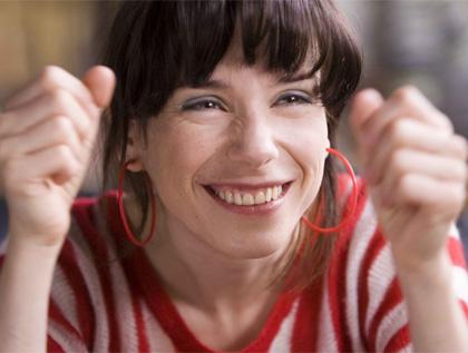 In foto Sally Hawkins (45 anni) Dall'articolo: La felicità porta fortuna, il film.