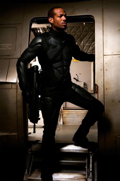 In foto Marlon Wayans (47 anni) Dall'articolo: G.I. Joe: The Rise of Cobra, le prime immagini.
