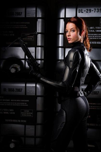 In foto Rachel Nichols (39 anni) Dall'articolo: G.I. Joe: The Rise of Cobra, le prime immagini.