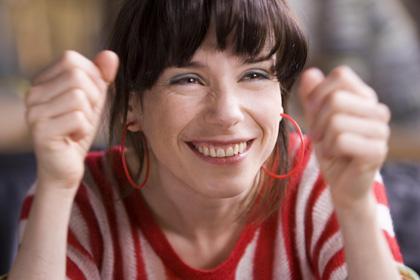 In foto Sally Hawkins (45 anni) Dall'articolo: Happy Go Lucky: Per un realismo della felicità.