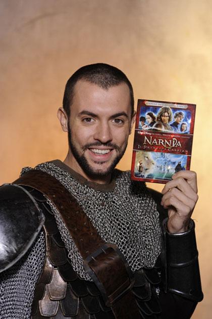 Ti piacerebbe interpretare il ruolo di uno spadista in un film? -  Dall'articolo: Tagliariol parla del Principe Caspian.