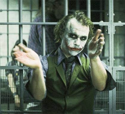 In foto Heath Ledger Dall'articolo: Il cavaliere oscuro arriva in home video.