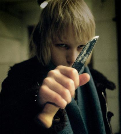 In foto Kåre Hedebrant (24 anni) Dall'articolo: Lasciami entrare: il senso di Eli per il sangue.