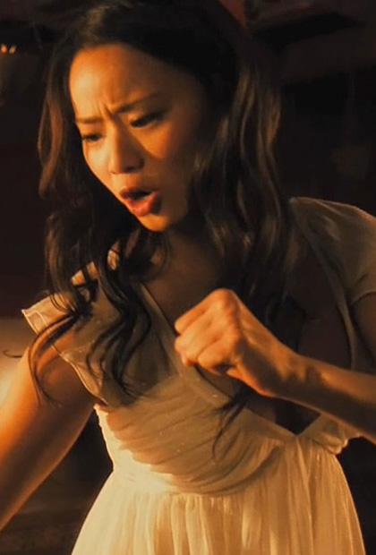 In foto Jamie Chung (37 anni) Dall'articolo: Dragonball: nuove immagini del film.