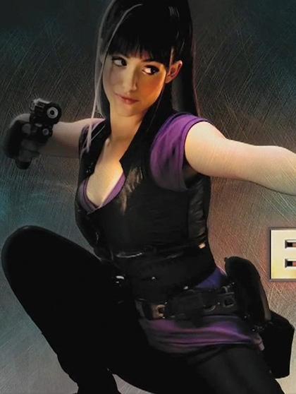In foto Emmy Rossum (33 anni) Dall'articolo: Dragonball: nuove immagini del film.