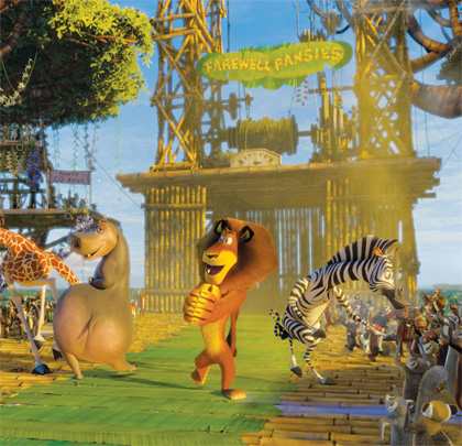 Un direttore della fotografia per riadattare tecniche del cinema dal vero -  Dall'articolo: Madagascar 2 e l'Africa a misura di computer.