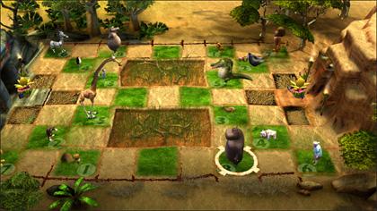 Un'immagine del videogioco -  Dall'articolo: Madagascar 2, il videogioco.