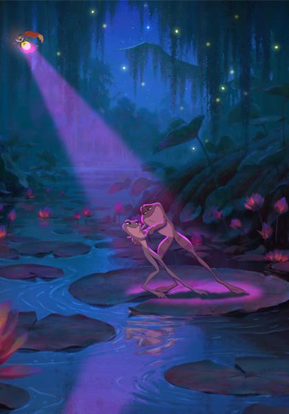 Naveen e Tiana -  Dall'articolo: The Princess and the Frog: nuove foto.