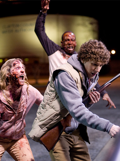 In foto Jesse Eisenberg (36 anni) Dall'articolo: Zombieland: prime immagini di Eisenberg, Harrelson e Breslin.