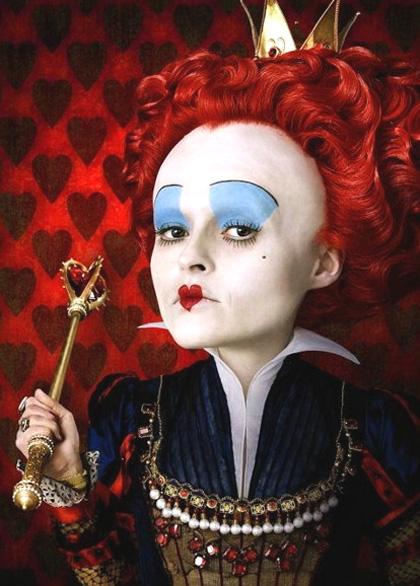 In foto Helena Bonham Carter (55 anni) Dall'articolo: Alice in Wonderland: ecco le prime foto ufficiali.