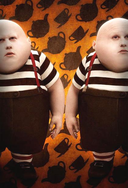 In foto Matt Lucas (45 anni) Dall'articolo: Alice in Wonderland: altre tre foto ufficiali.