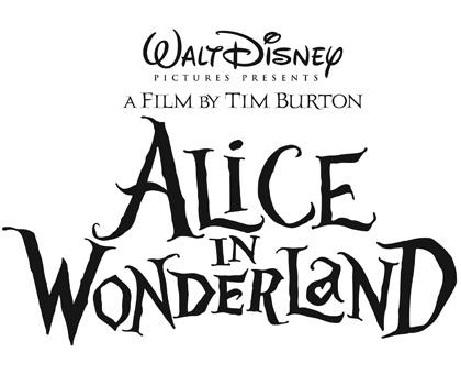 Il logo del film -  Dall'articolo: Alice in Wonderland: il logo del film.