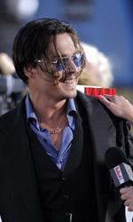 In foto Johnny Depp (57 anni) Dall'articolo: Nemico Pubblico: le foto della premiere.