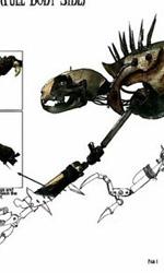 Cat Beast di lato -  Dall'articolo: 9: il resto della serie dei character poster.