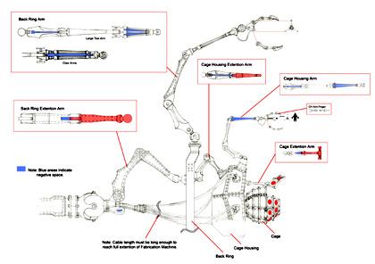 Studio di Fabricator -  Dall'articolo: 9: il resto della serie dei character poster.