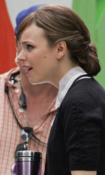 In foto Rachel McAdams (40 anni) Dall'articolo: Morning Glory: le foto di Harrison Ford e Rachel McAdams dal set.