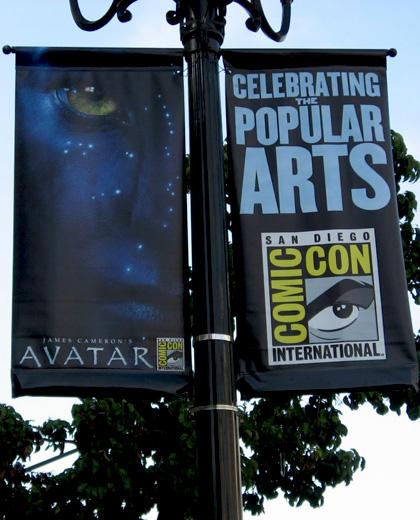 Il banner per il Comic-Con -  Dall'articolo: Avatar: il banner realizzato in occasione del Comic-Con.