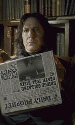 In foto Alan Rickman (72 anni) Dall'articolo: Harry Potter e il principe mezzosangue: gli Inferi della caverna.