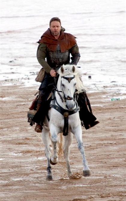 In foto Russell Crowe (55 anni) Dall'articolo: Robin Hood: Danny Huston sarà Re Riccardo.