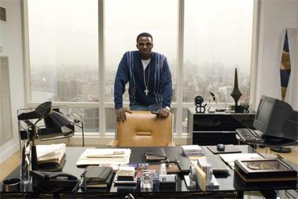 In foto Derek Luke (46 anni) Dall'articolo: Notorious: essere Christopher Wallace.