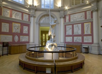 La Flaxman Gallery -  Dall'articolo: Inception: le riprese all'University College di Londra.