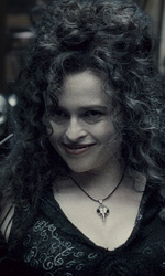 In foto Helena Bonham Carter (52 anni) Dall'articolo: Harry Potter e il principe mezzosangue: battuto il record del cavaliere oscuro.