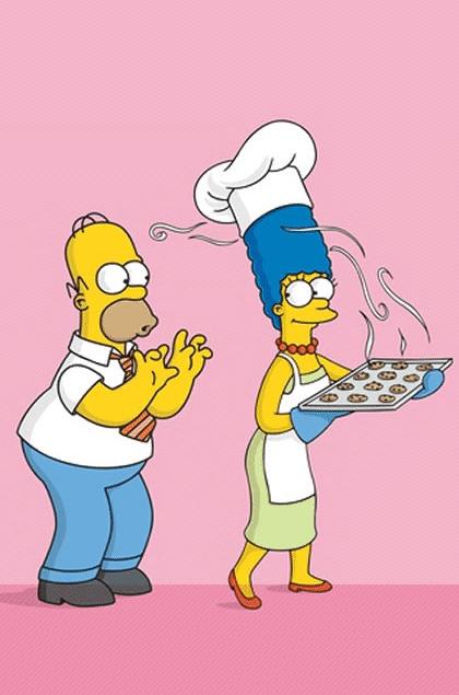 Homer e Marge -  Dall'articolo: I Griffin e The Shield sono le sorprese della 61° edizione degli Emmy.