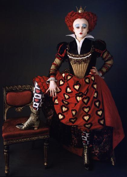 In foto Helena Bonham Carter (53 anni) Dall'articolo: Alice in Wonderland: primi poster.