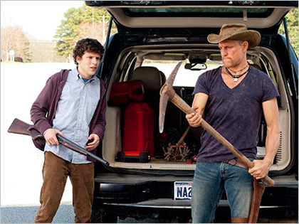 In foto Woody Harrelson (58 anni) Dall'articolo: Comic-Con: le immagini in anteprima di Entertainment Weekly.