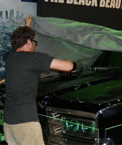 In foto Seth Rogen (39 anni) Dall'articolo: The Green Hornet: rivelata Black Beauty.