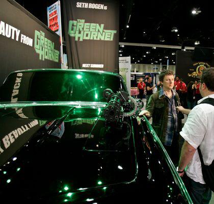 In foto Michel Gondry (57 anni) Dall'articolo: The Green Hornet: rivelata Black Beauty.