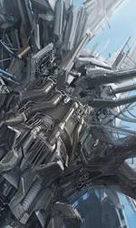 Concept art di Josh Nizzi di un'ambiente -  Dall'articolo: Transformers 3: vedremo Unicron?.