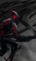 Concept art di Ryan Church dell'interno di Harvester -  Dall'articolo: Transformers 3: vedremo Unicron?.