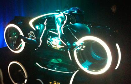 Light Cycle -  Dall'articolo: Tron Legacy: la campagna virale.