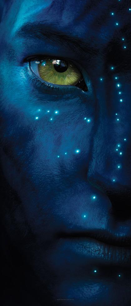 Un Na'vi -  Dall'articolo: Avatar: la descrizione del materiale del Comic-Con.