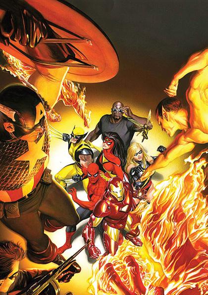 Una cover di Avengers/Invaders -  Dall'articolo: The Avengers: gli eroi e i nemici.