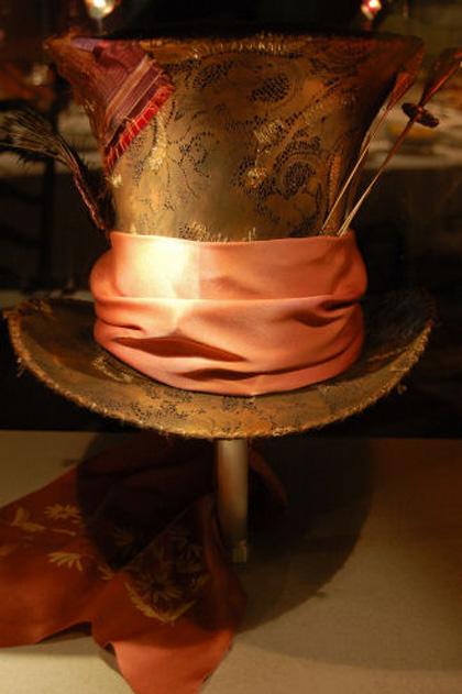 Il cappello del Cappellaio Matto - Dall articolo  Alice in Wonderland  il tè 2810f37cb04c
