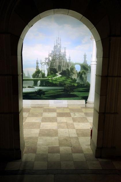 Il castello della Regina Bianca -  Dall'articolo: Alice in Wonderland: il tè party al Comic-Con.