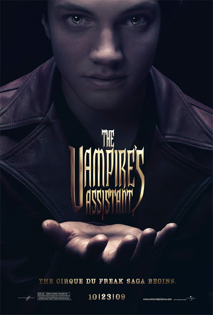 In foto Chris Massoglia (28 anni) Dall'articolo: The Vampire's Assistant: il teaser poster.