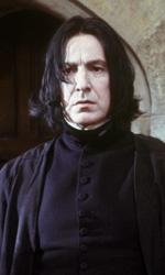 In foto Alan Rickman (73 anni) Dall'articolo: Harry Potter e la pietra filosofale avrà un'edizione estesa?.