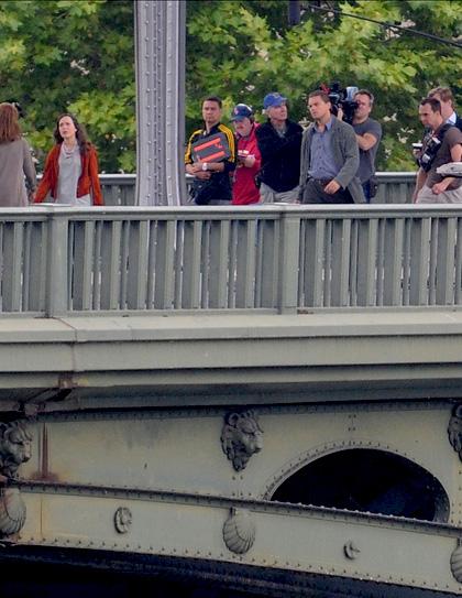 In foto Ellen Page (32 anni) Dall'articolo: Inception: le immagini dal set di DiCaprio.