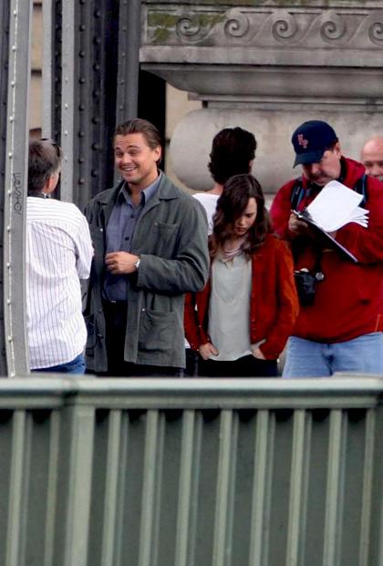 In foto Ellen Page (33 anni) Dall'articolo: Inception: le immagini dal set di DiCaprio.