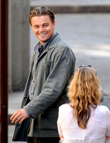 In foto Leonardo DiCaprio (45 anni) Dall'articolo: Inception: le immagini dal set di DiCaprio.